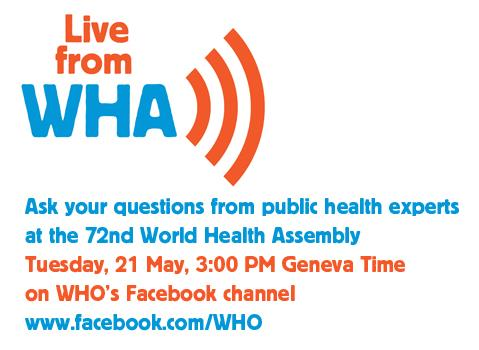 WHA Today – 72nd World Health Assembly: Documentation